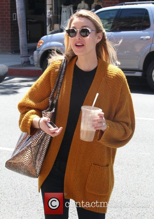 Whitney Port on Bedford Drive in Beverly Hills