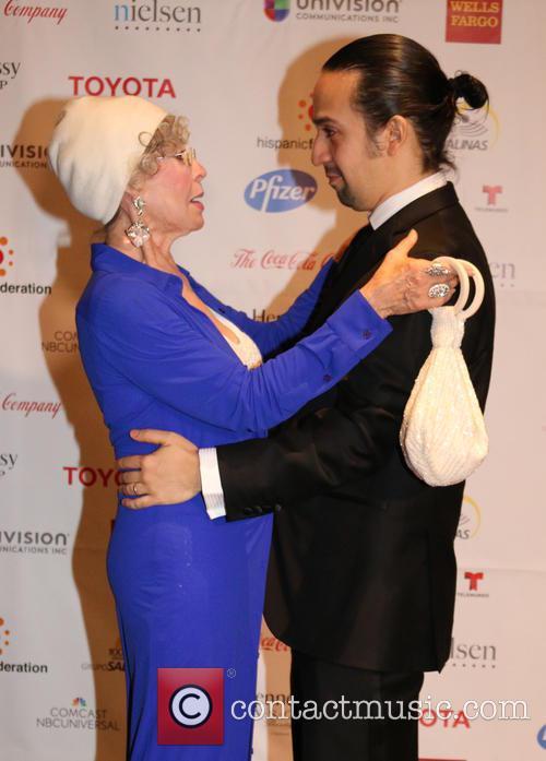 Rita Moreno and Lin-manuel Miranda 6