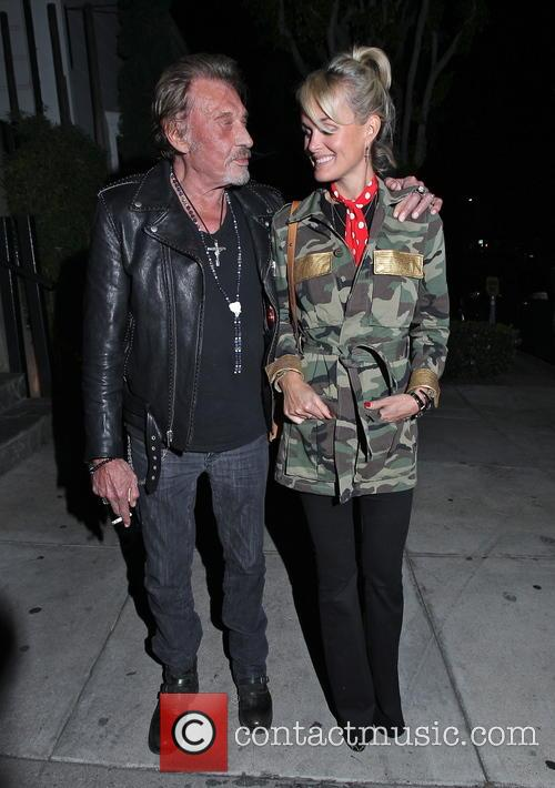 Johnny Hallyday and Laeticia Hallyday 9