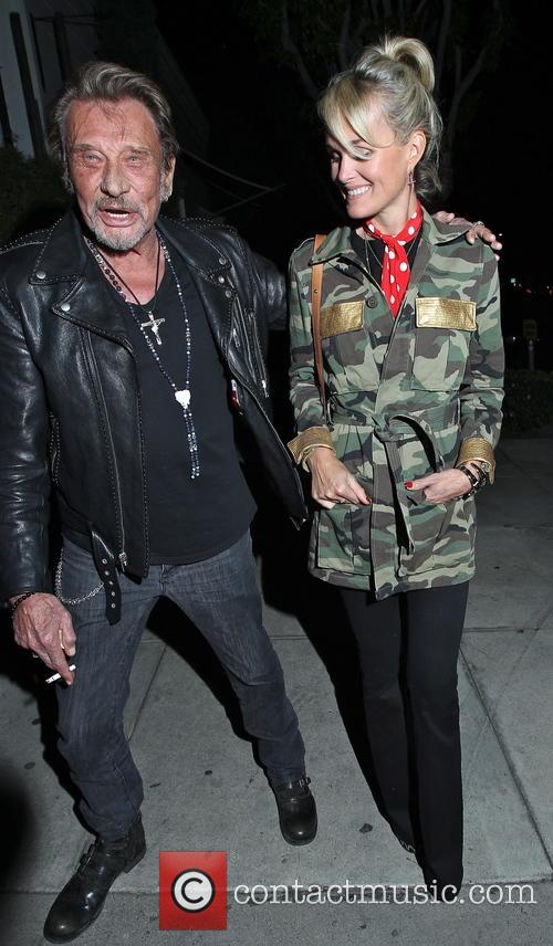 Johnny Hallyday and Laeticia Hallyday 10
