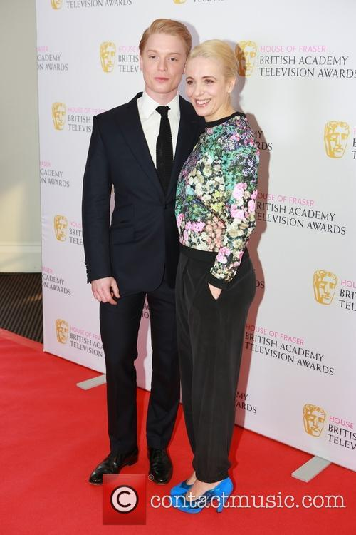 Freddie Fox and Amanda Abbington 3