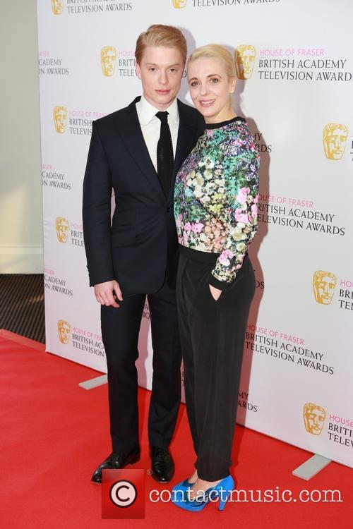 Freddie Fox and Amanda Abbington 4