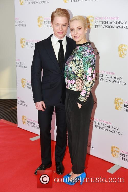 Freddie Fox and Amanda Abbington 1