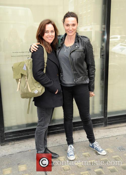 Jill Halfpenny and Sarah Parish 2