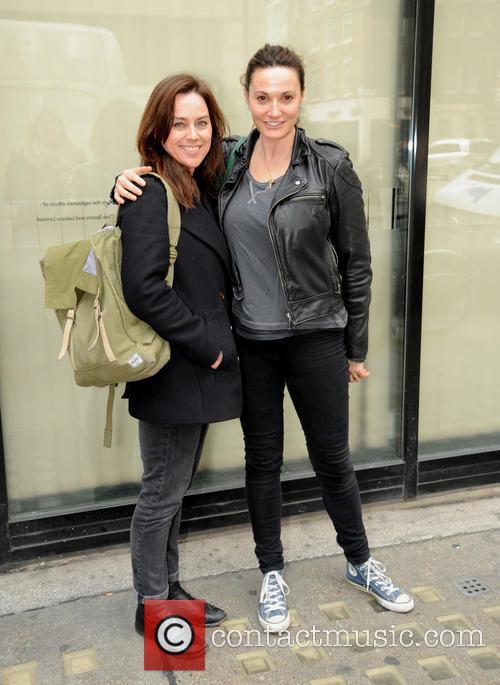 Jill Halfpenny and Sarah Parish 1