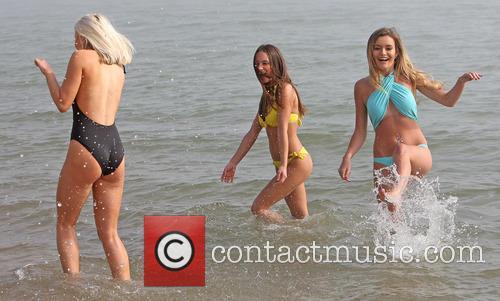 Dancers Elana (yellow) Eliza (black) and Bekka (blue) 5