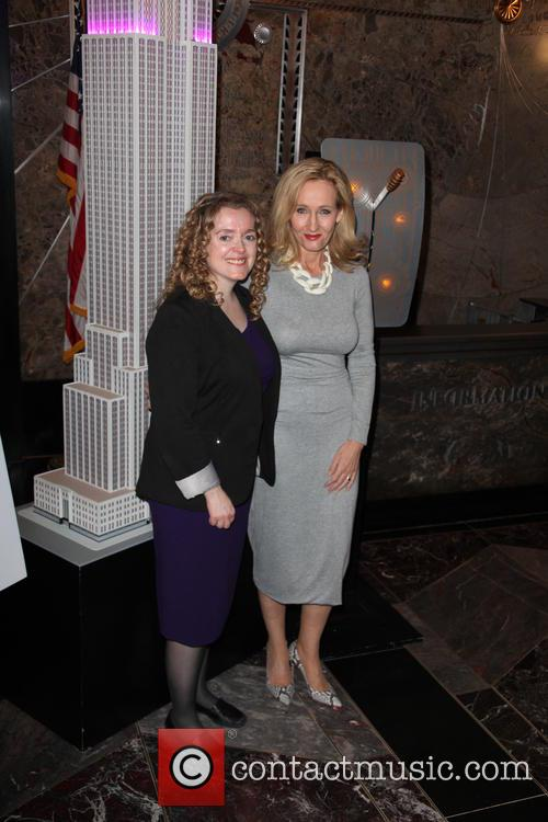 Georgette Mulheir and J.k. Rowling 4