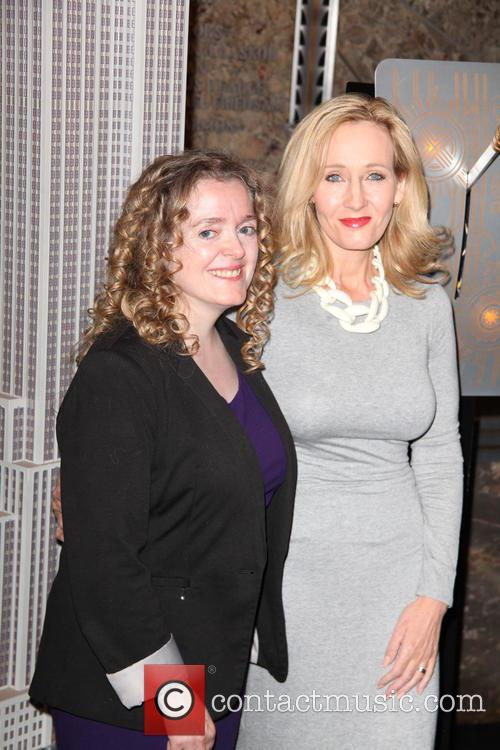 Georgette Mulheir and J.k. Rowling 1
