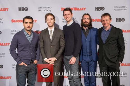 Kumail Nanjiani, Thomas Middleditch, Zach Woods, Martin Starr and Alec Berg 6