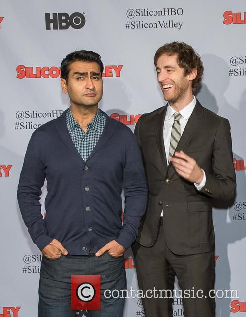 Kumail Nanjiani, Thomas Middleditch, Zach Woods and Martin Starr 2