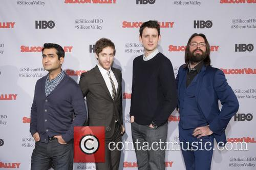 Kumail Nanjiani, Thomas Middleditch, Zach Woods and Martin Starr 3