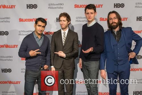 Kumail Nanjiani, Thomas Middleditch, Zach Woods and Martin Starr 4