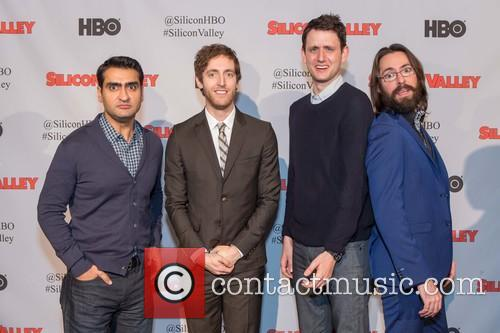 Kumail Nanjiani, Thomas Middleditch, Zach Woods and Martin Starr 1