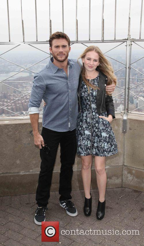 Scott Eastwood and Britt Robertson 3