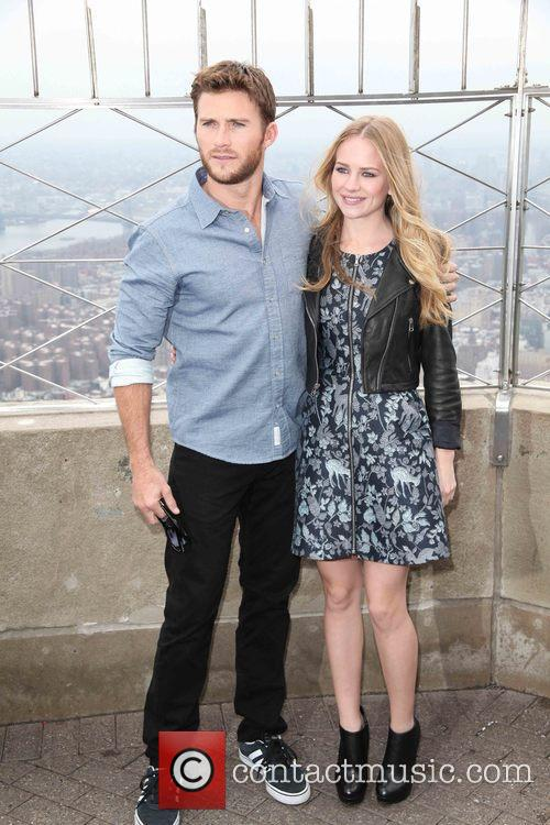 Scott Eastwood and Britt Robertson 4
