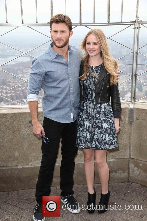 Scott Eastwood and Britt Robertson 6