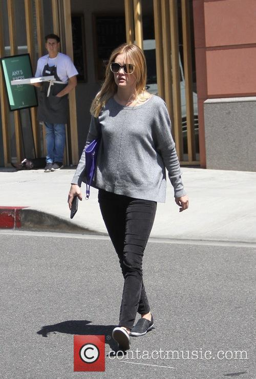 'Gangster Squard' actresss Ambyr Childers spotted leaving a...