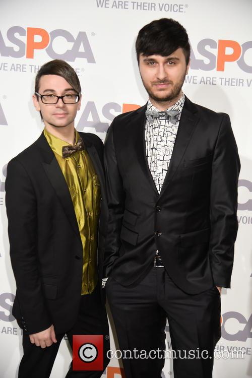 Christian Siriano and Brad Walsh