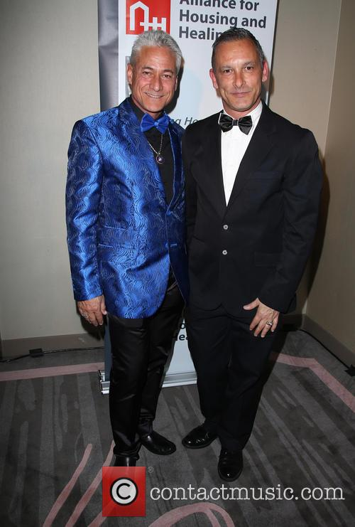 Greg Louganis and Johnny Chaillot 8