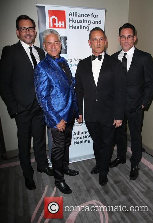 Lawrence Zarian, Greg Louganis, Johnny Chaillot and Gregory Zarian 2