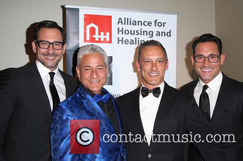 Lawrence Zarian, Greg Louganis, Johnny Chaillot and Gregory Zarian 4
