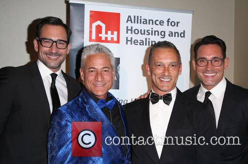 Lawrence Zarian, Greg Louganis, Johnny Chaillot and Gregory Zarian 5