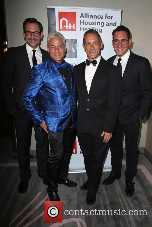 Lawrence Zarian, Greg Louganis, Johnny Chaillot and Gregory Zarian 1