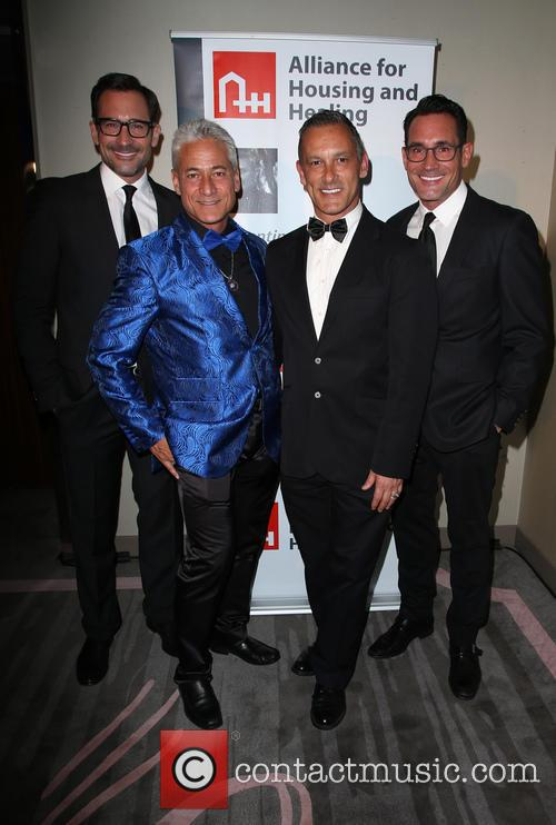 Lawrence Zarian, Greg Louganis, Johnny Chaillot and Gregory Zarian 6