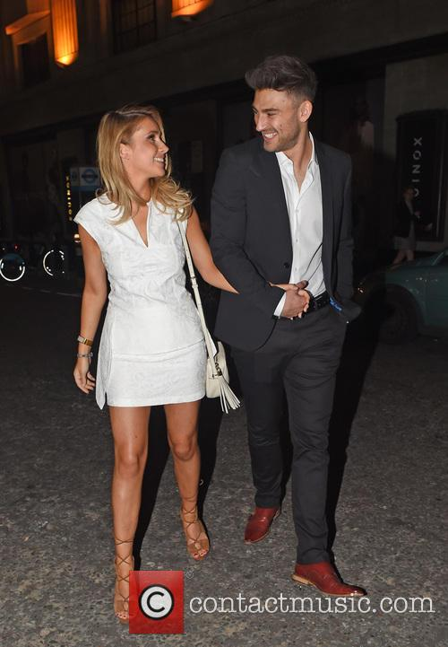 Jake Quickenden and Danielle Fogarty. 1