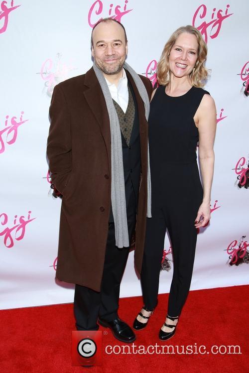 Danny Burstein and Rebecca Luker 7