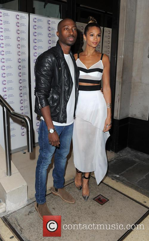 Alesha Dixon and Azuka Ononye 2