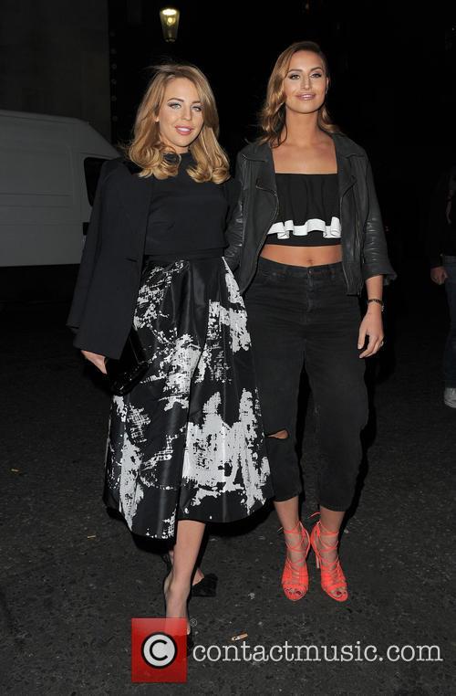 Lydia Bright and Ferne Mccann 5