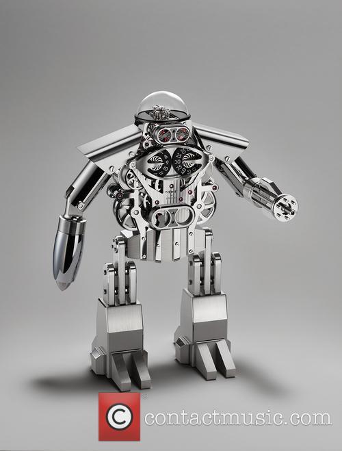 Melchior The Robot Clock 2