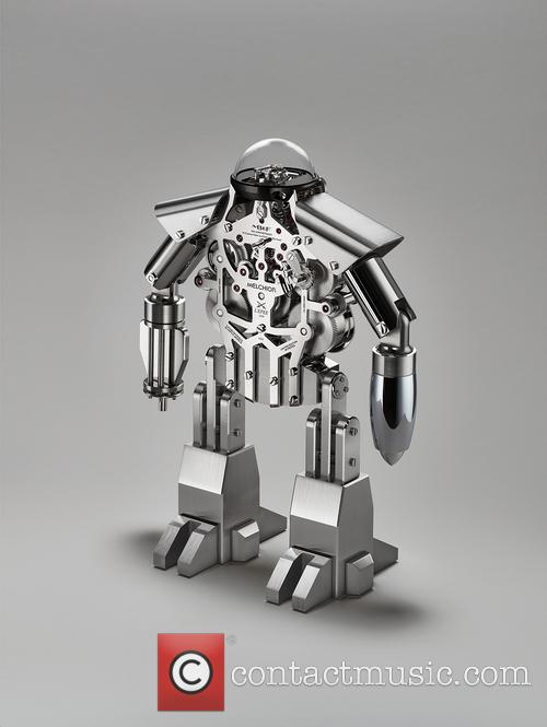 Melchior The Robot Clock 4