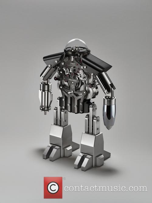 Melchior The Robot Clock 1
