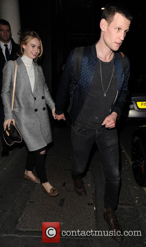 Matt Smith and Lily James 5