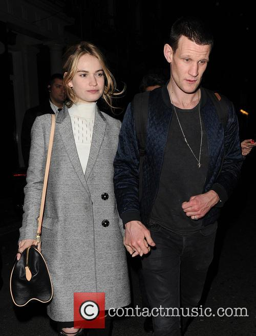 Matt Smith and Lily James 6