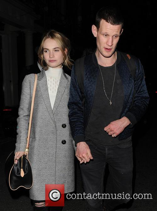 Matt Smith and Lily James 8