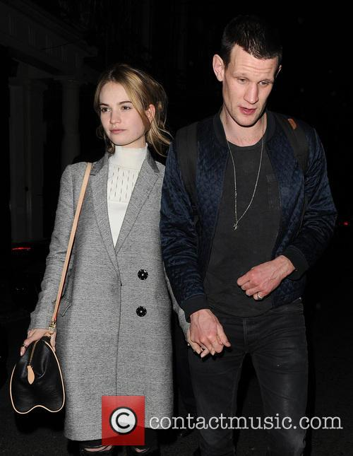 Matt Smith and Lily James 10