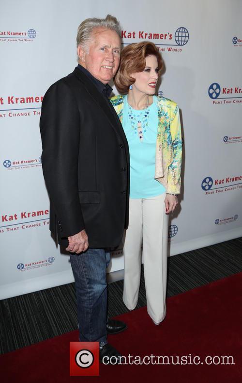Martin Sheen and Kat Kramer 2