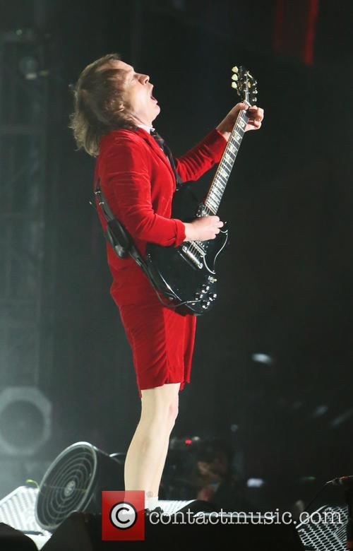 Angus Young and Ac/dc