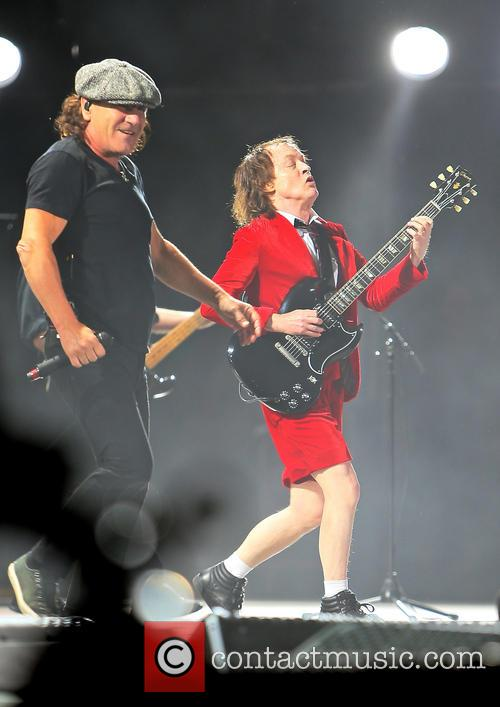 Angus Young, Brian Johnson and Ac/dc 9