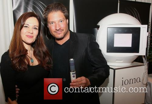 Mojdeh Amirvand and Sean Kanan