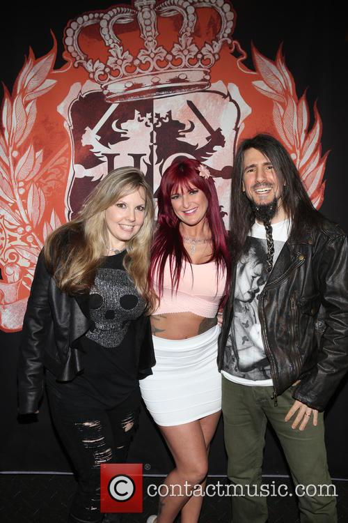 Jennifer Thal, Payton Sin Claire and Ron Bumblefoot Thal 3