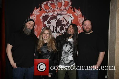Rocco Monterosso, Jennifer Thal, Ron Bumblefoot Thal and Dennis Leeflang 1