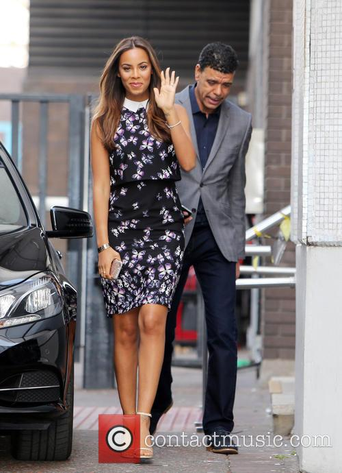 Rochelle Humes and Chris Kamara 3