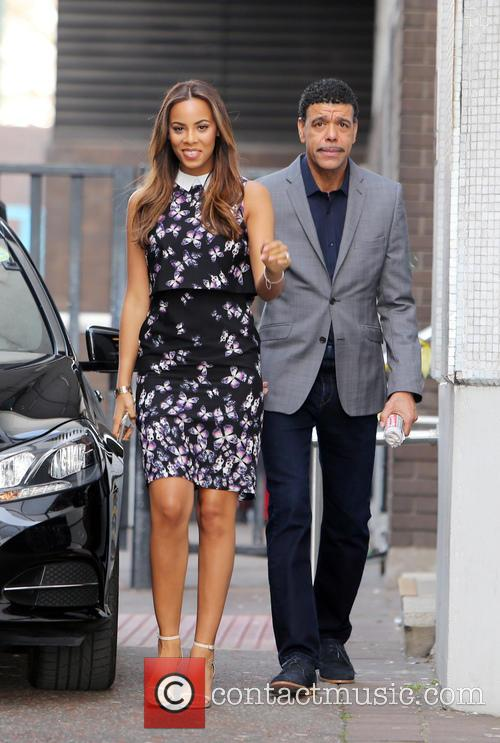 Rochelle Humes and Chris Kamara 4