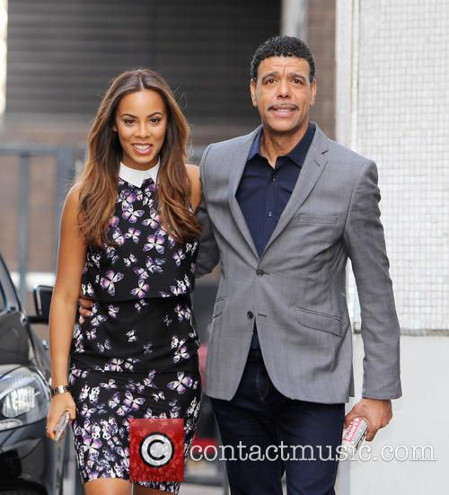 Rochelle Humes and Chris Kamara 5