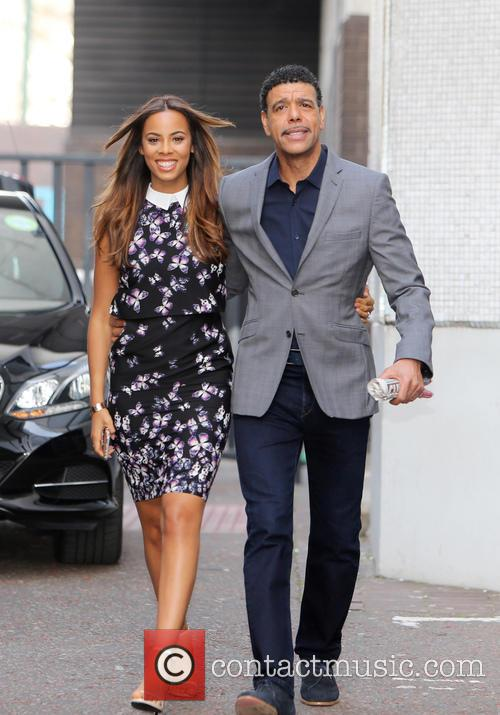 Rochelle Humes and Chris Kamara 6