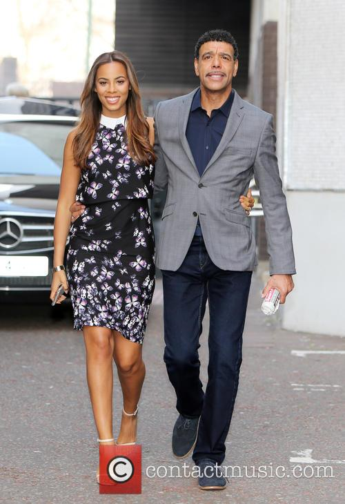 Rochelle Humes and Chris Kamara 7